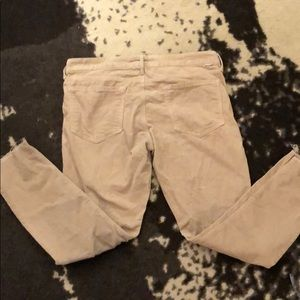 Mother Denim Looker Ankle Fray Hopscotch Cords 30